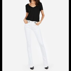 NWT🏷Express Mid-rise White Skyscraper Jeans 18S